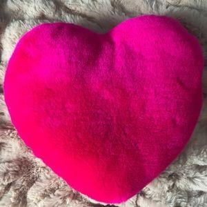 $5 ADD ON | Fuchsia Heart Throw Pillow